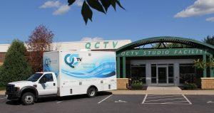 Truck and QCTV studio