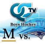 Boys Hockey - Marshall School Duluth vs Champlin Park